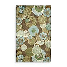 image of Trans-Ocean Ravella Disco Area Rug in Driftwood