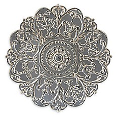 Stratton Home Décor Medallion Wall Art In Grey