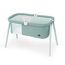 image of Chicco® LullaGo® Travel Bassinet in Grey Mist
