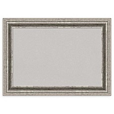 image of Amanti Art Bel Volto Cork Board with Frame in Grey