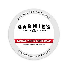 image of Barnie's Coffee Kitchen Santa's White Christmas Single Serve Coffee
