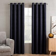 Image Of Sketch Grommet Top Window Curtain Panel