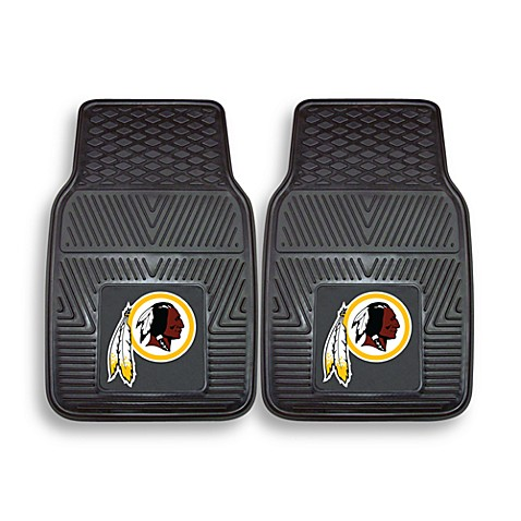 NFL Washington Redskins Vinyl Car Mats (Set of 2)