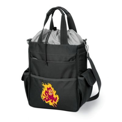 image of Picnic Time® Arizona State Collegiate Activo Tote in Black