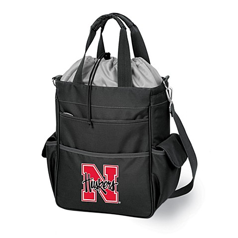 Picnic Time® University of Nebraska Collegiate Activo Tote in Black