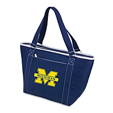 image of Picnic Time® University of Michigan Collegiate Topanga Cooler Tote in Navy Blue