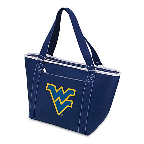 Picnic Time® West Virginia University Collegiate Topanga Cooler Tote in Navy Blue
