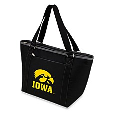 image of Picnic Time® University of Iowa Collegiate Topanga Cooler Tote in Black
