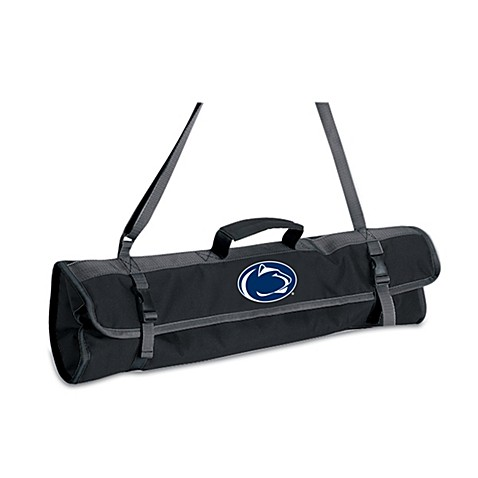 Picnic Time® Pennsylvania State Collegiate 4-Piece BBQ Tote