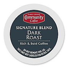 image of 36-Count Community Coffee® Dark Roast Coffee for Single Serve Coffee Makers
