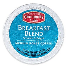 image of Pack 18-Count Community Coffee® Breakfast Blend for Single Serve Coffee Makers