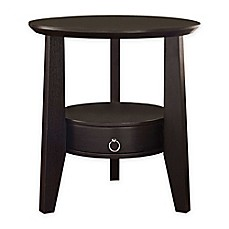 Monarch Specialties 23 Inch Round Side Table