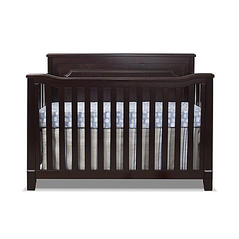 Sorelle Berkley 4 In 1 Convertible Flat Top Panel Crib In