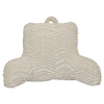 Great Herringbone Backrest In White