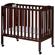 Dream On Me 3 In 1 Folding Portable Crib In Espresso