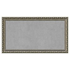 image of Amanti Art Framed Magnetic Board in Parisian Silver