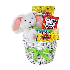 Gourmet gift baskets holiday gift baskets food gifts bed bath image of alder creek easter bunny and treats gift basket negle Gallery