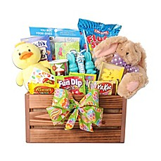 Gourmet gift baskets holiday gift baskets food gifts bed bath image of alder creek bunny and friends easter basket negle Gallery