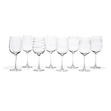image of Mikasa® Cheers 15.75 oz. White Wine Glasses (Set of 8)