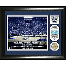 image of Villanova University 2018 NCAA National Champions Men's Basketball Single Coin Frame