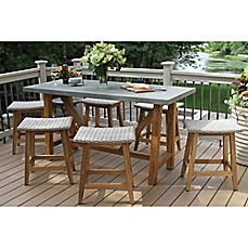 Patio Furniture Sets - Chair Pads, Seat Cushions & more | Bed Bath ...