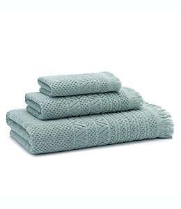 Toalla para manos de algodón UGG® Napa Jacquard color agave