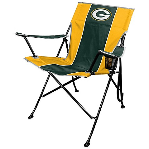 NFL Green Bay Packers Deluxe Quad ChairNFL Green Bay Packers Deluxe Quad Chair   Bed Bath   Beyond. Ki Chairs Green Bay. Home Design Ideas