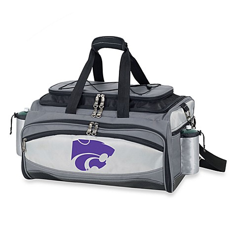 Picnic Time® Collegiate Vulcan BBQ & Cooler Set - Kansas State University