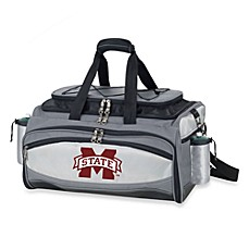 image of Picnic Time® Collegiate Vulcan BBQ & Cooler Set - Mississippi State University