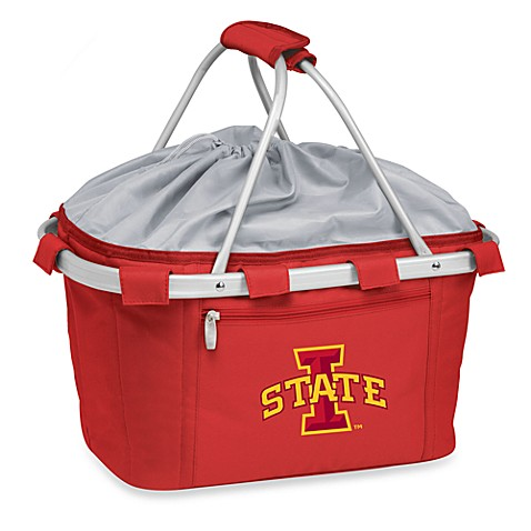 Picnic Time® Iowa State Collegiate Metro Basket in Red