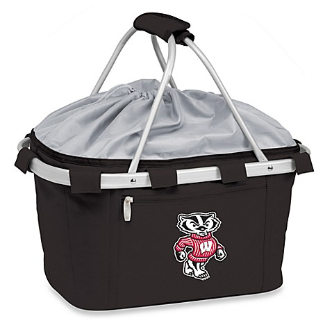 Picnic Time® University of Wisconsin Collegiate Metro Basket