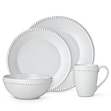 image of Lenox® French Carved™ Pearl Dinnerware Collection in White