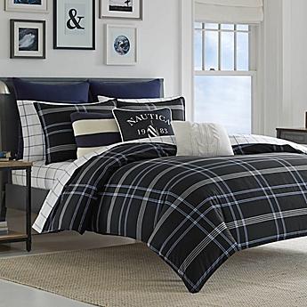 College dorm comforters twin xl bedding sets bed bath beyond image of nautica allston reversible comforter set gumiabroncs Gallery