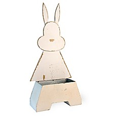 image of Boston International Rustic Bunny Planter