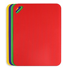 image of Dexas® Flexible Heavy Duty Grippmat® Cutting Boards (Set of 4)