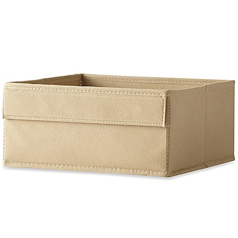 Real Simple® Half Height Fabric Drawer in Mocha