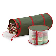 image of Real Simple® Pop-up Gift Wrap & Ribbon Organizer