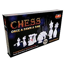 image of ScienceWiz Products Once a Pawn a Time Deluxe Chess Game