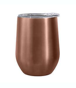 Vaso para vino Cheers™ Oggi™ color oro rosa
