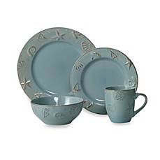 image of Thomson Pottery Cape Cod 16-Piece Dinnerware Set