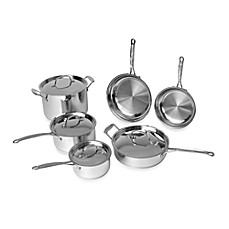 image of BergHOFF® Earthchef 10-Piece Premium Copper Clad Cookware