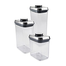 OXO SteeL™ POP Rectangular Food Storage Container