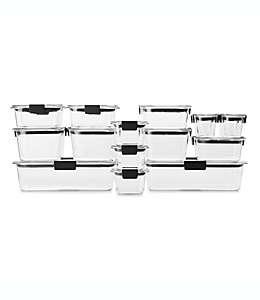 Set de contenedores para alimentos, Rubbermaid® 36 piezas