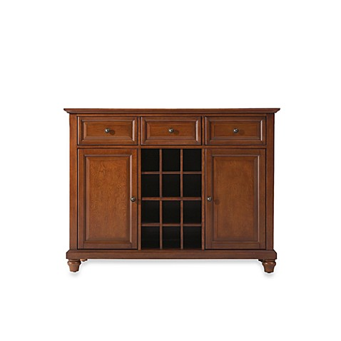 Buy crosley cambridge buffet server sideboard cabinet in for Sideboard alt