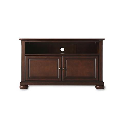 crosley alexandria 42 inch tv stand bed bath beyond. Black Bedroom Furniture Sets. Home Design Ideas