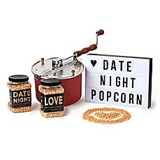 "image of Wabash Valley Farms™ 4-Piece ""Date Night"" Say It In Lights Red Whirley-Pop Gift Set"
