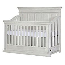 image of evolur™ Napoli 5-in-1 Convertible Crib in Antique Grey