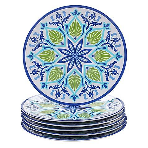Certified International Morocco Dinner Plates in Blue (Set of 6)  sc 1 st  Bed Bath u0026 Beyond & Certified International Morocco Dinner Plates in Blue (Set of 6 ...