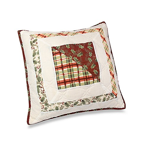"Lenox® Winter Greetings 18"" Square Toss Pillow"