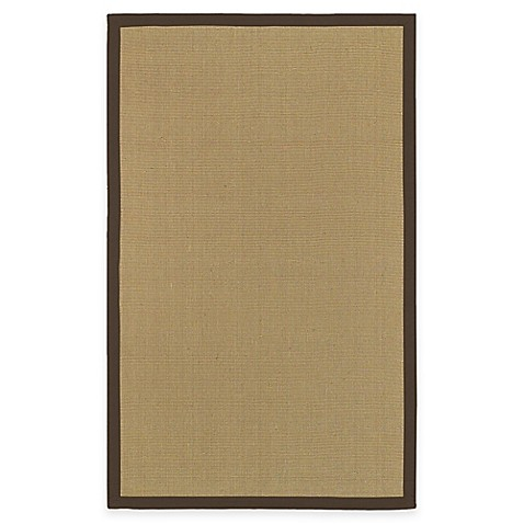 Surya Halden Soho Border 5-Foot x 8-Foot Area Rug in Beige/Brown
